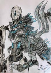 Samuel Hayden and  dragon by Alina-Vasilyeva-97