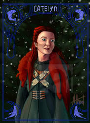 Catelyn Tully by AlmaTeresa