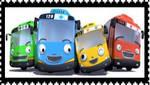 Tayo the Little Bus Stamp by dengekipororo