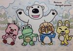 Classic Pororo and Friends by dengekipororo