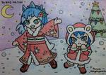 YW: Holiday Snow Girls by dengekipororo