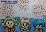 Happy New Year 2019 by dengekipororo