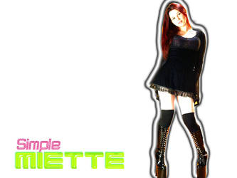 Simple Miette Wall by xaltair