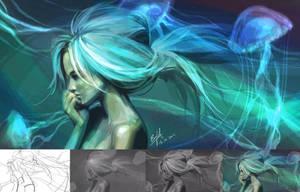 Mermaid by engkit