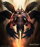BattleCraft - Damien by engkit