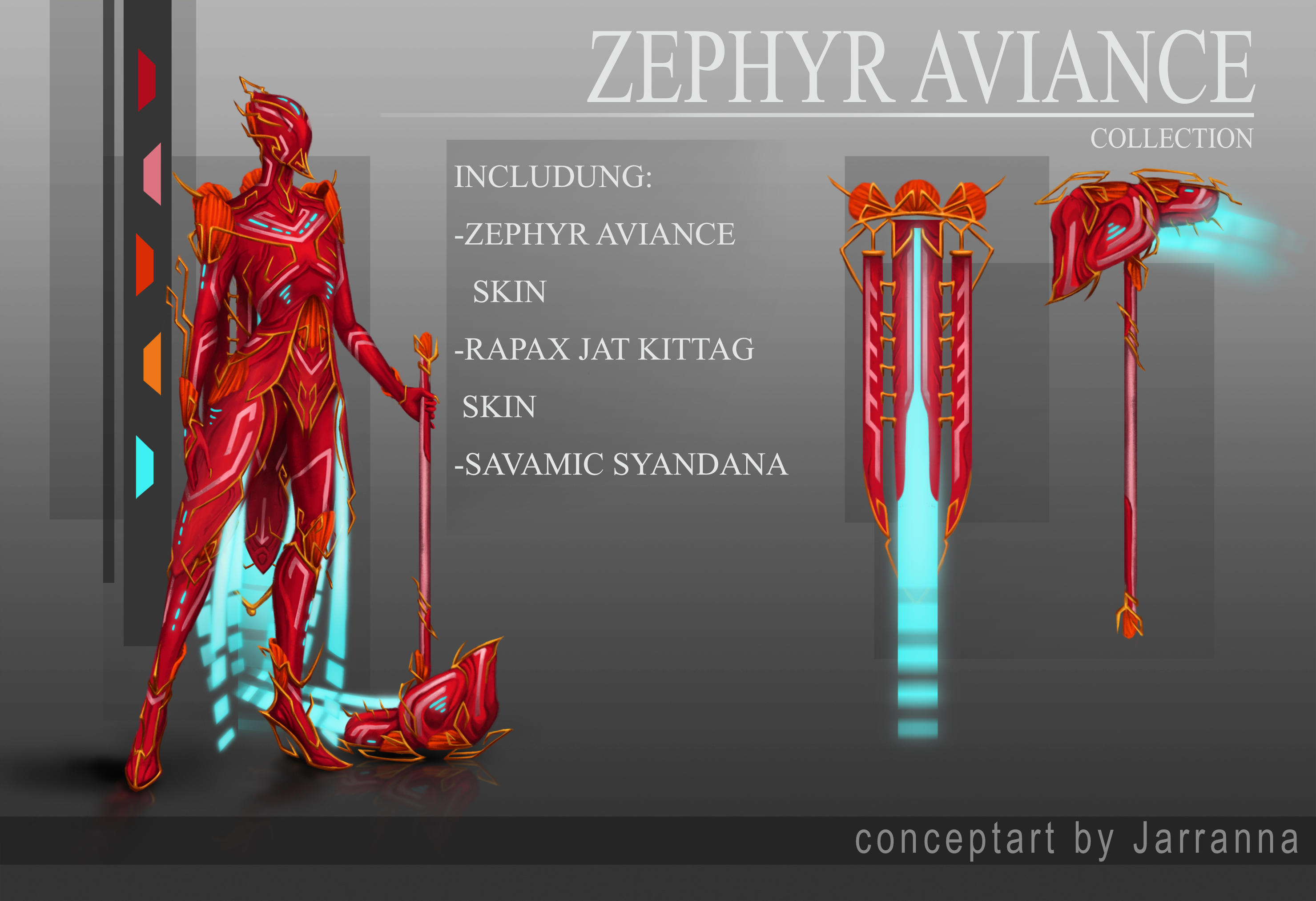 Zephyr Aviance Collection by Jarranna