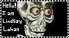 HELLO I AM LINDSAY LOHAN stamp by SK8ERxGRLZ