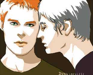 queer as folk justin and brian by pingguotou1119