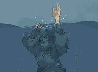sailor cant swim by licchan