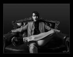Marilyn Manson Portrait by drgutman