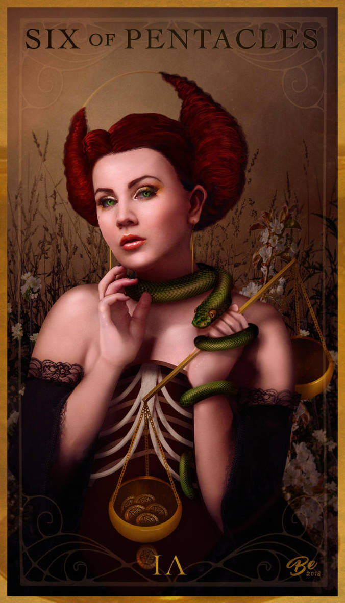 Six of Pentacles   Envy/Charity by SoyUnPeredor