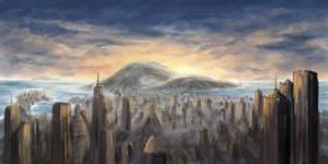 Sundown City Concept by theuni