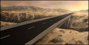 Road Concept with Bridge by theuni