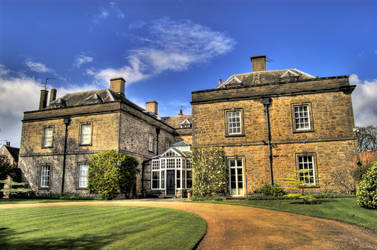 Spring Manor House HDR by nat1874