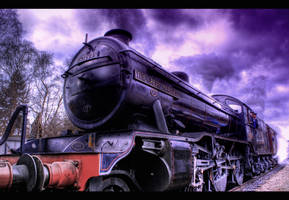 Winter Steam HDR by nat1874
