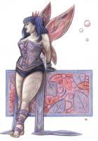 Purple Pixie by DJNebulous