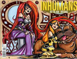 Princesses of Attilan by DJNebulous