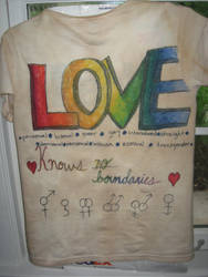 Gay Pride Custom Shirt by aluress