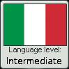 Italian Language Level: Intermediate by iFellDownARabbitHole