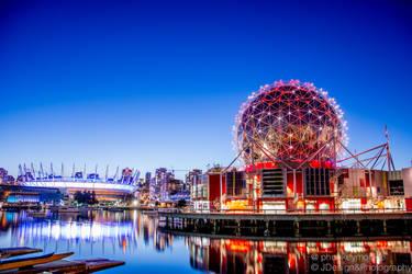 Vancouver NightLife @ScienceWorld by phunkeymonkie