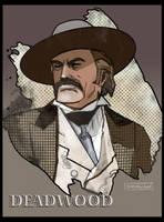 Deadwood: Cy Toliver by CartoonCaveman
