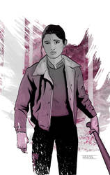 Nancy from Stranger Things by CartoonCaveman