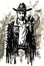 Walking Dead: Rick Grimes by RADMANRB