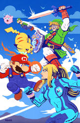 Super Smash Bros by RADMANRB