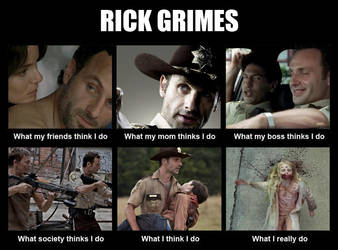 Rick Grimes Bitch! by FluffyPocket