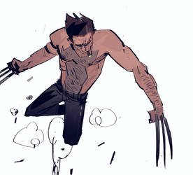 wolverine by johnlaine