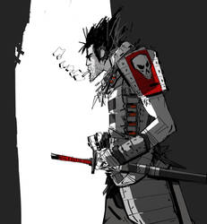 Samurai by johnlaine