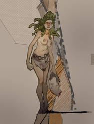 Medusa by johnlaine