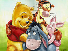 My Art Is Pooh by Life-takers-crayons