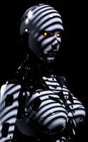 Robo-Noir by CrownDigitalArt