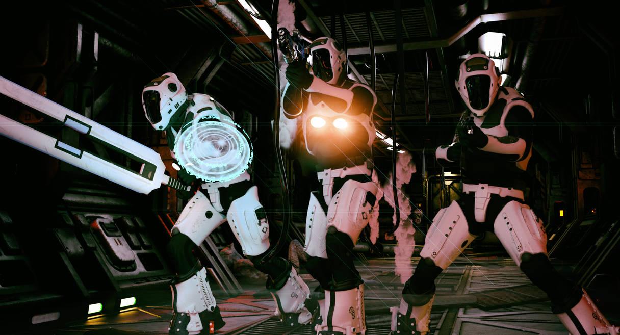 Solar Knights - Bug Hunt by CrownDigitalArt