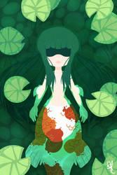 .:: Koi Pond ::. by OpalesquePrincess