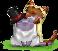 Rebs and Venn kitties... by stardevampire