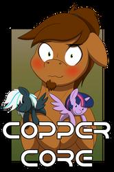 Copper Core (Con badge) by WCNimbus