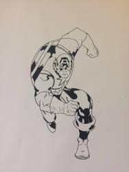 Captain America by mallardfever21