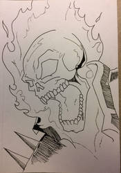 Ghost Rider by mallardfever21