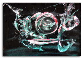 Spray painting Abstract - Swirl swirl swirl by Airgone
