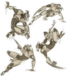 Karn Gestures by Cat-Bat