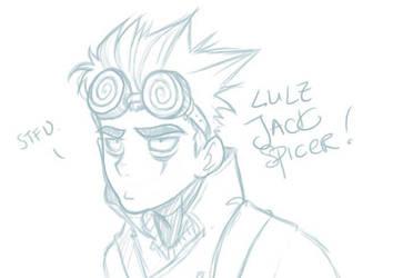 LOLZ JACK SPICER by iSnick