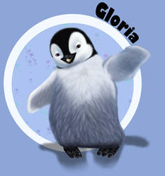 Gloria - Hapy Feet by Lalena