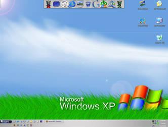 My newest desktop..fella rules by thegc