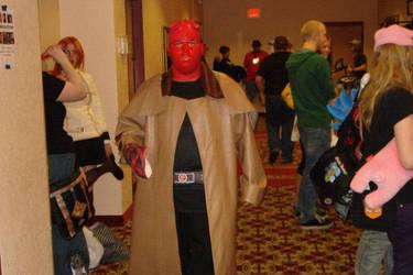 My Crappy Hellboy Cosplay by hunterfan