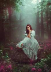 magic pond by Makusheva