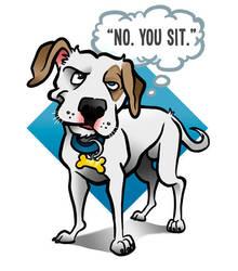 No. You sit. by binarygodcom