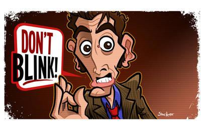 Don't Blink (Tenth Doctor) by binarygodcom