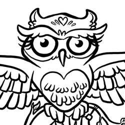 Owl by binarygodcom